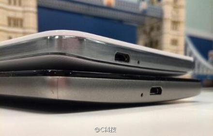 Huawei Ascend Mate 2: вид снизу