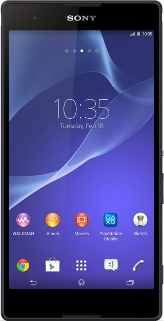 Анонс смартпэда Sony Xperia T2 Ultra