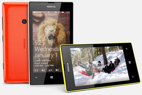 Старт продаж смартфона Nokia Lumia 525 в России