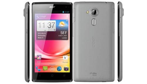 Старт продаж смартфона Acer Liquid Z5