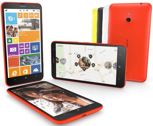 Старт продаж смартфона Nokia Lumia 1320 в России