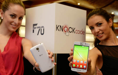 Анонс смартфонов LG F70 и LG F90