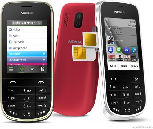 Сотовые телефоны Asha 202 и Asha 203