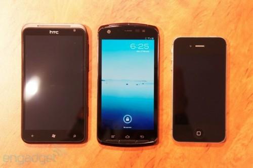 Прототип смартфона Fujitsu