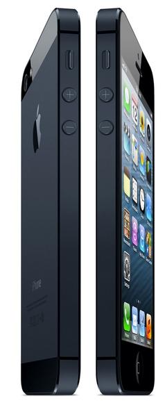iPhone 5: вид сбоку