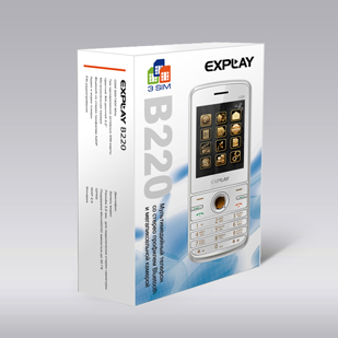 Коробка с Explay B220