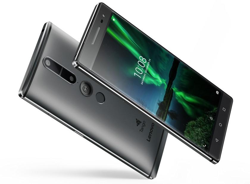 Lenovo представила три фаблета PHAB2