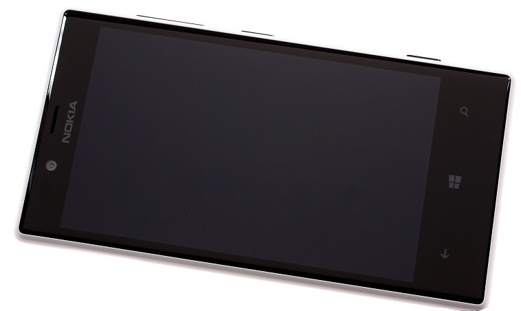 Front surface of Nokia Lumia 720