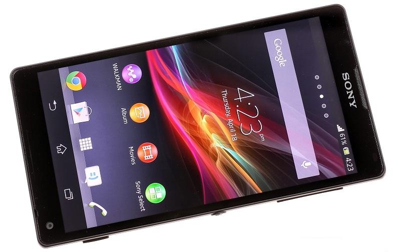 Лицевая поверхность Sony Xperia ZL