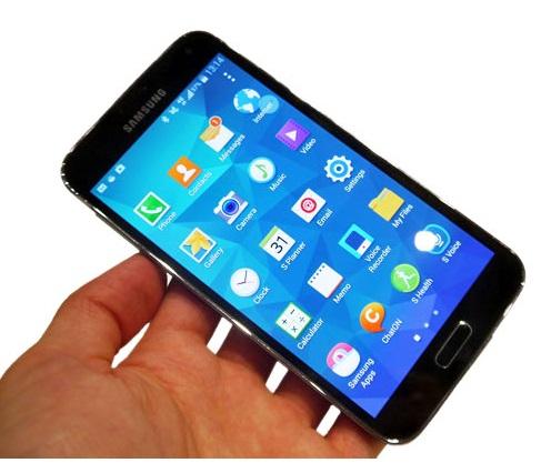 меню и интерфейс Samsung Galaxy S5