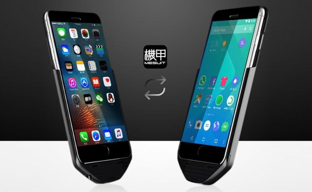 Футляр Mesuit запустит Android-приложения на iPhone