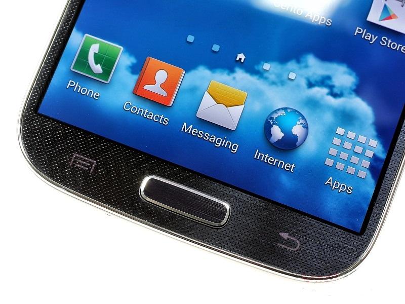 Нижняя часть дисплея Samsung Galaxy S4