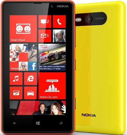 Nokia Lumia 820: тыльная сторона
