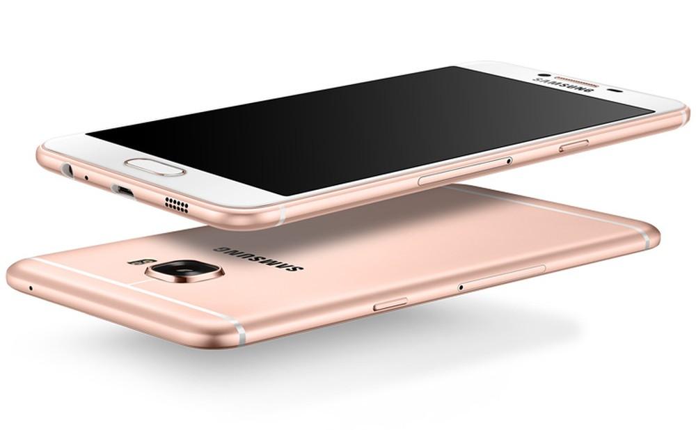 Состоялся анонс смартфона Samsung Galaxy C5