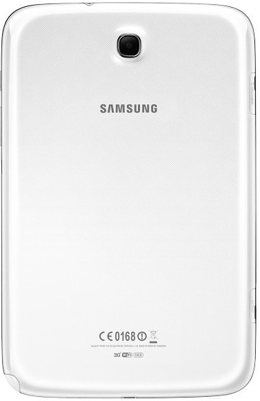 Samsung Galaxy Note 8.0: The back