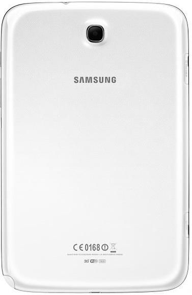 Samsung Galaxy Note 8.0: тыльная сторона