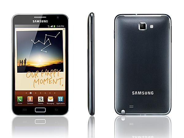 Samsung Galaxy Note: общий вид