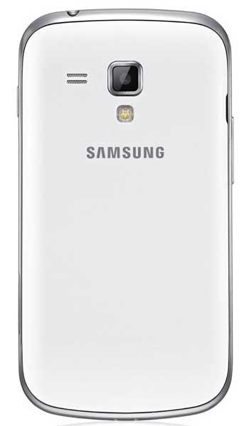 Samsung Galaxy S Duos: тыльная сторона смартфона