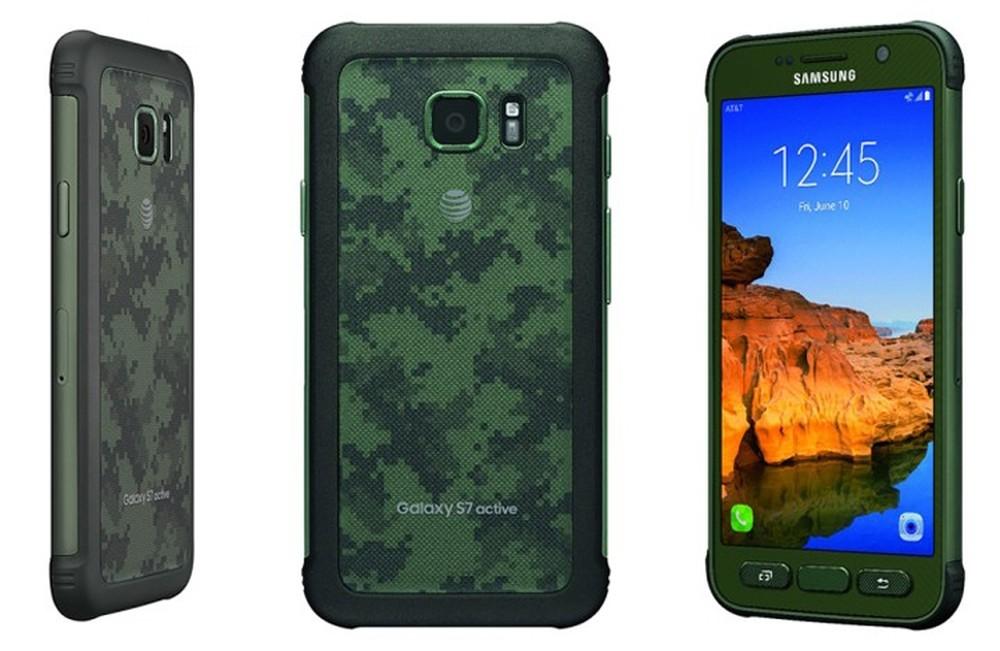 Samsung готовит к выпуску защищенную версию Galaxy S7