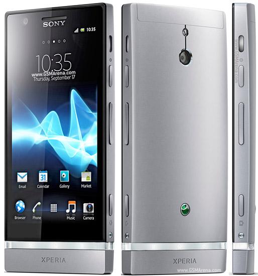 Sony Xperia P со всех сторон