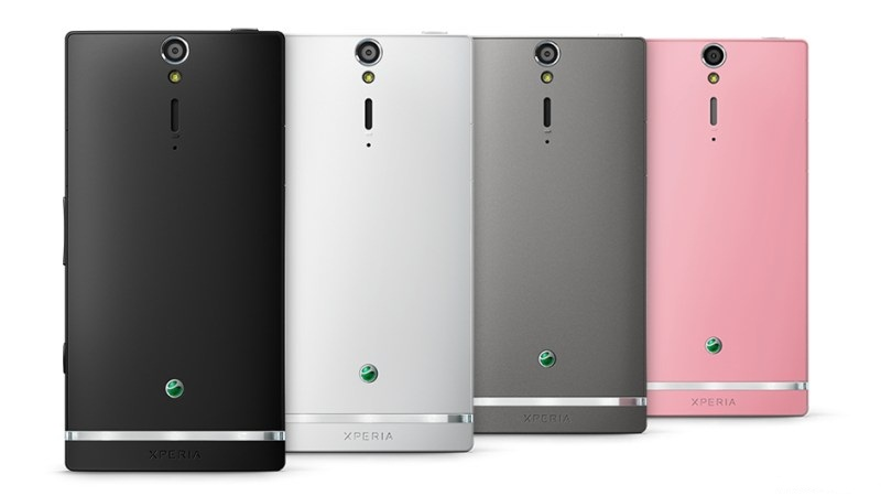 Sony Xperia SL: задняя крышка