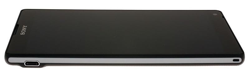 Sony Xperia ZL: левый бок