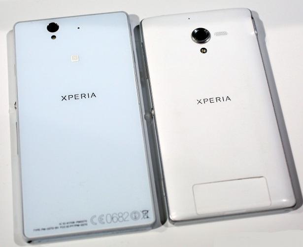 Sony Xperia ZL: сравнение с Sony Xperia Z