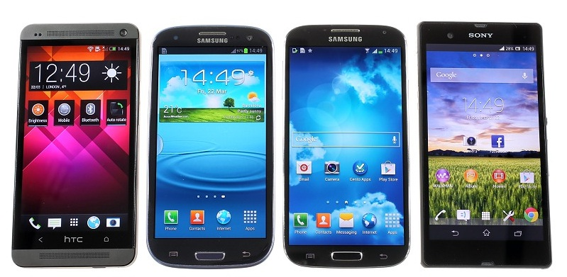 Compare phones with Samsung Galaxy S4