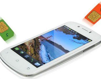 Телефон на две сим карты