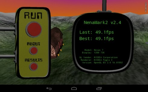 Тест №3 для Google Nexus 7