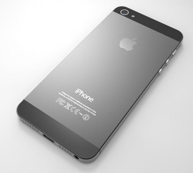 Тыльная сторона iPhone 5