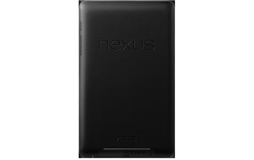 Тыльная сторона Nexus 7