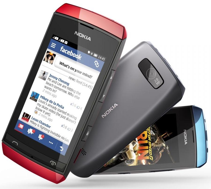 Тыльная сторона Nokia Asha 305