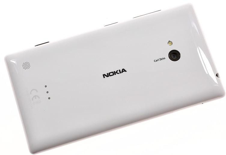 Тыльная сторона Nokia Lumia 720