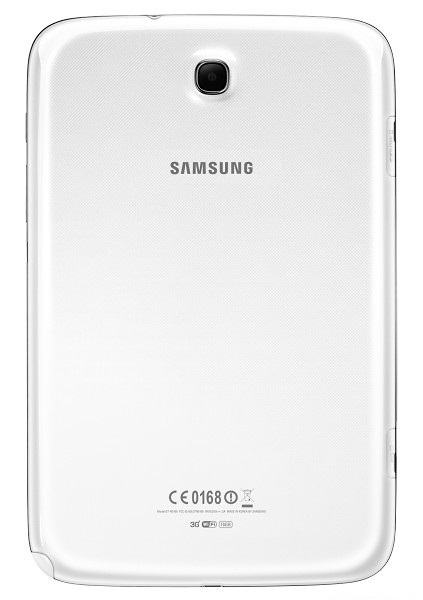 Back of Samsung Galaxy Note 8.0