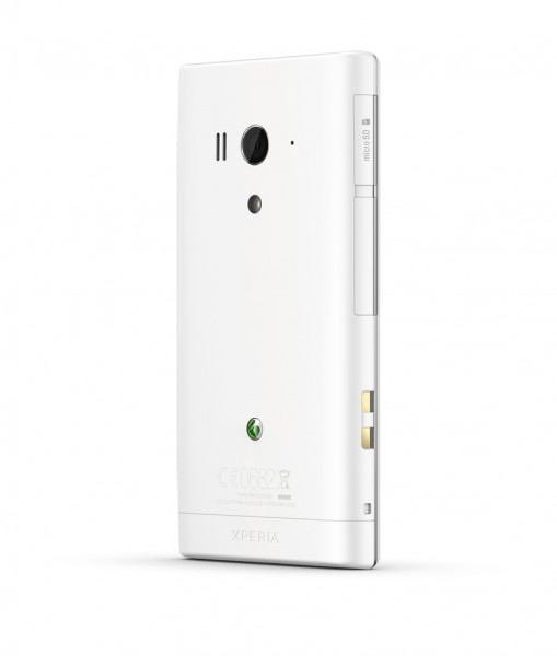 Тыльная сторона Sony Xperia acro S
