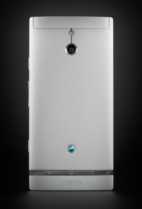 Тыльная сторона Sony Xperia P