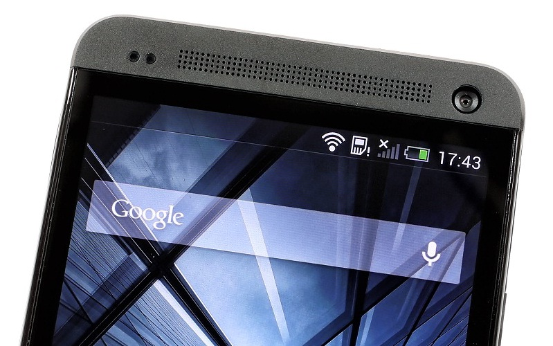 Верхняя часть HTC One