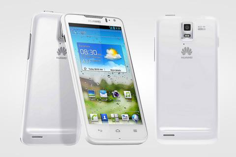 Внешний вид Huawei Ascend D Quad