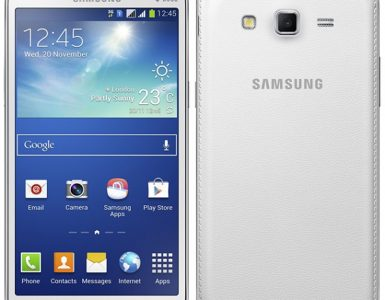 внешний вид спереди и сзади Samsung Galaxy Grand 2