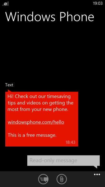 Windows Phone 8: Messaging - фото 4