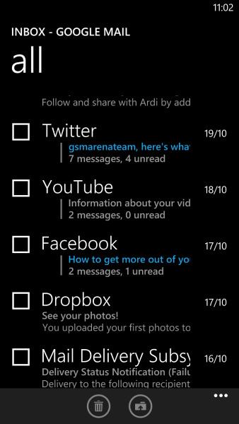Windows Phone 8: Messaging - фото 9