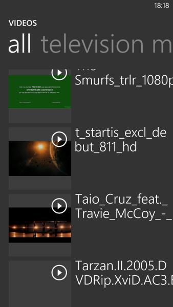 Windows Phone 8: музыкальный и видео раздел - фото 9