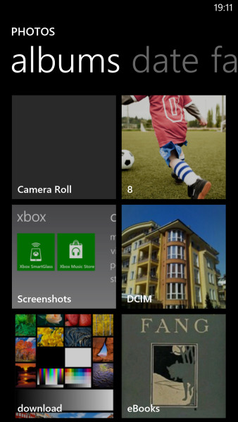 Windows Phone 8: Раздел фотографий - фото 5