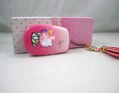Женский розовый телефон