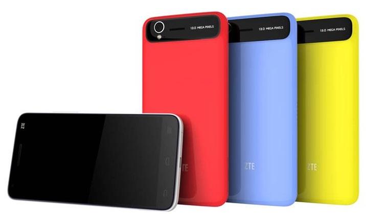 ZTE Grand S: multicolored smartphones